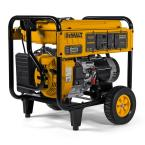 DEWALT 8,000-Watt Gasoline Powered Electric Start Portable Generator with Idle Control, GFCI Outlets and CO Protect
