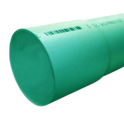 4 in. x 10 ft. PVC Bell-End Gravity Sewer Pipe