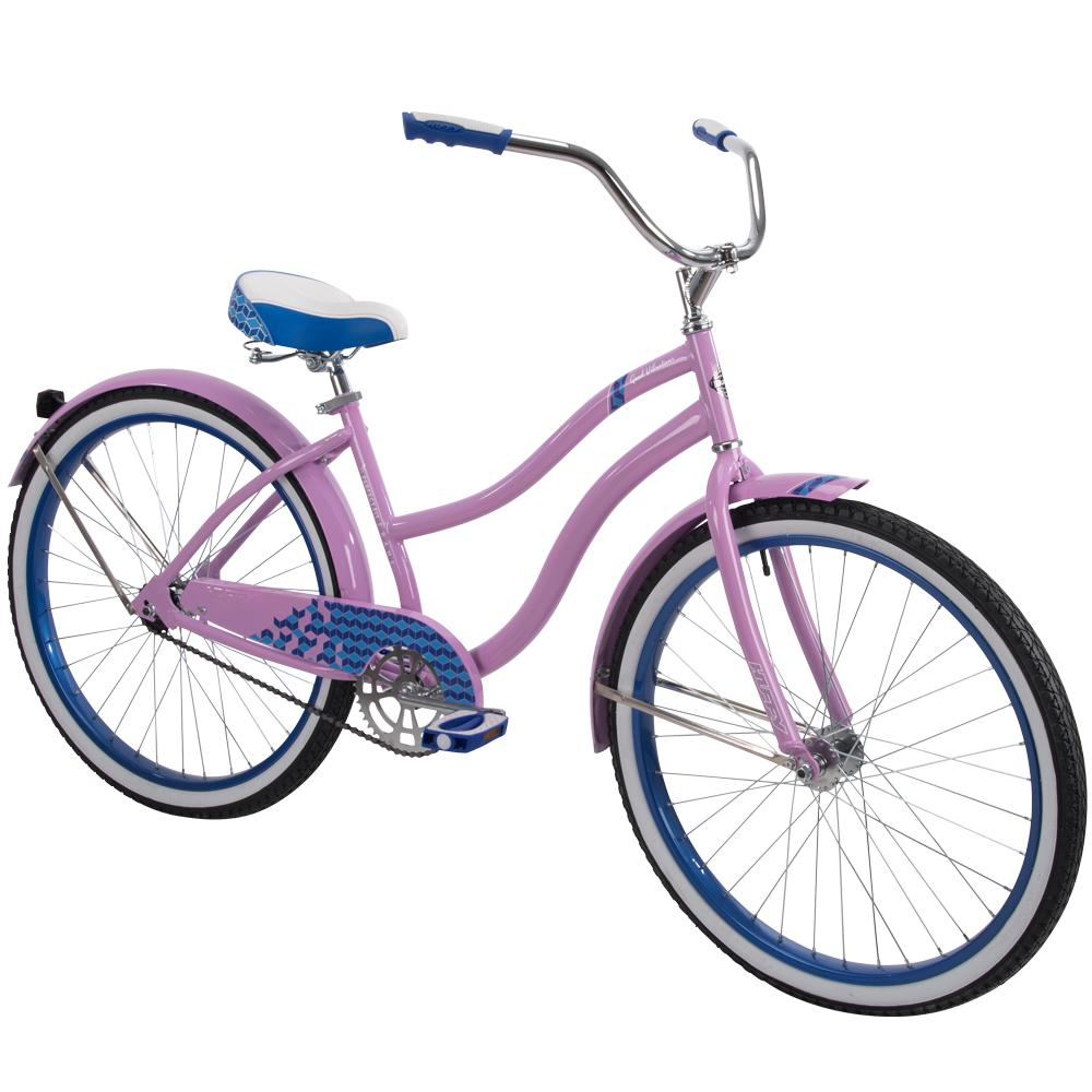 265686b711b Huffy Good Vibrations 26 in. Women's Classic Cruiser Bike-26639 ...