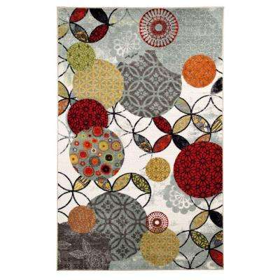 Give and Take Kaleidscope 5 ft. x 8 ft. Indoor Rectangle Area Rug