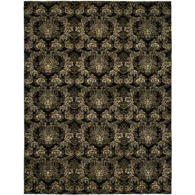 Gramercy Midnight Black 8 Ft X 10 Area Rug