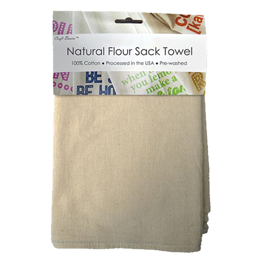 Snowflakes Dish Flour Sack Kitchen Towel