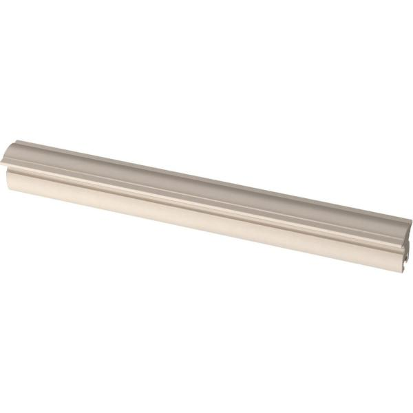 Classic Curve 2 in. to 8-13/16 in. (51 mm to 208 mm) Satin Nickel Adjustable Drawer Pull (5-Pack)