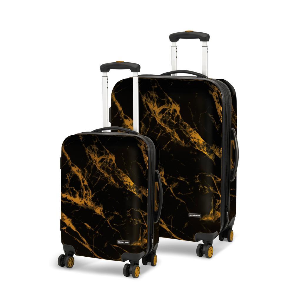 Deep Marble 2-Piece Luggage Set
