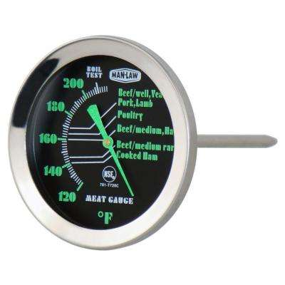 BBQ Series Meat Thermometer with Glow in Dark Dial