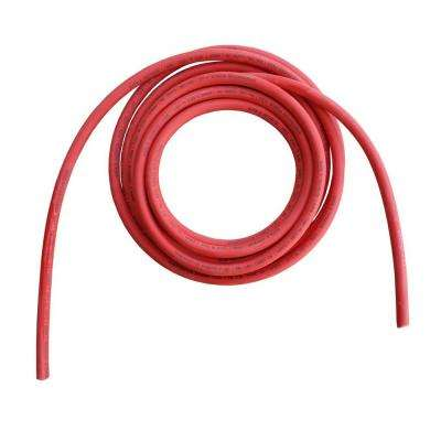 50 ft. 2/0-Gauge Red Welding Battery Pure Copper Flexible Cable Wire