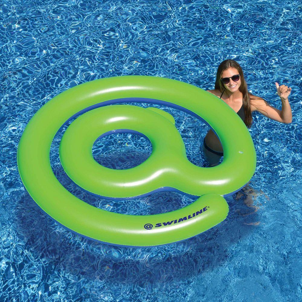 @Trending 62 in. Inflatable Pool Float