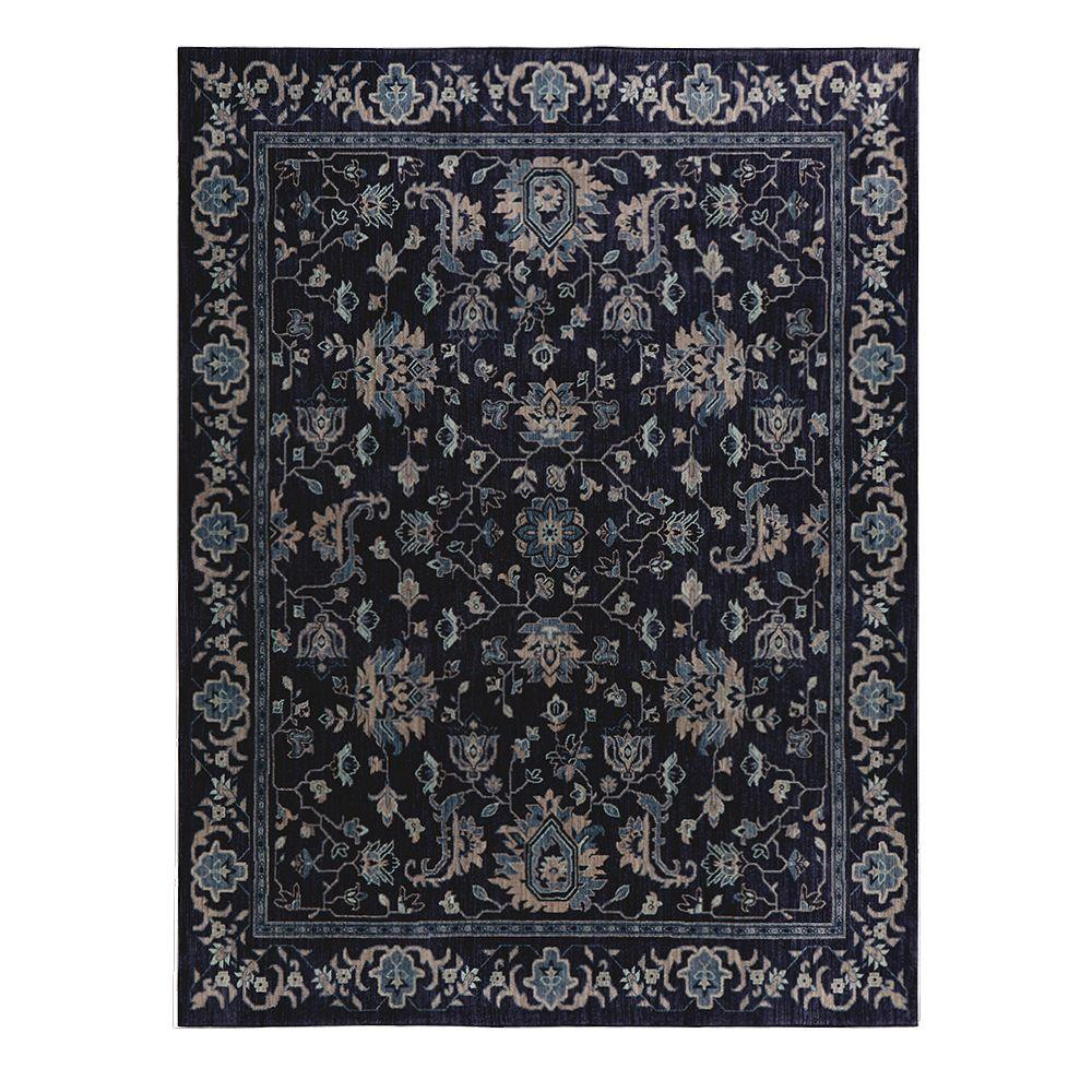 Home Decorators Collection Jackson Indigo 8 Ft. X 10 Ft. Area Rug