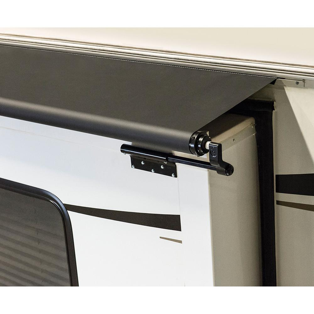 Lippert Components Solera Awning Slider in Black