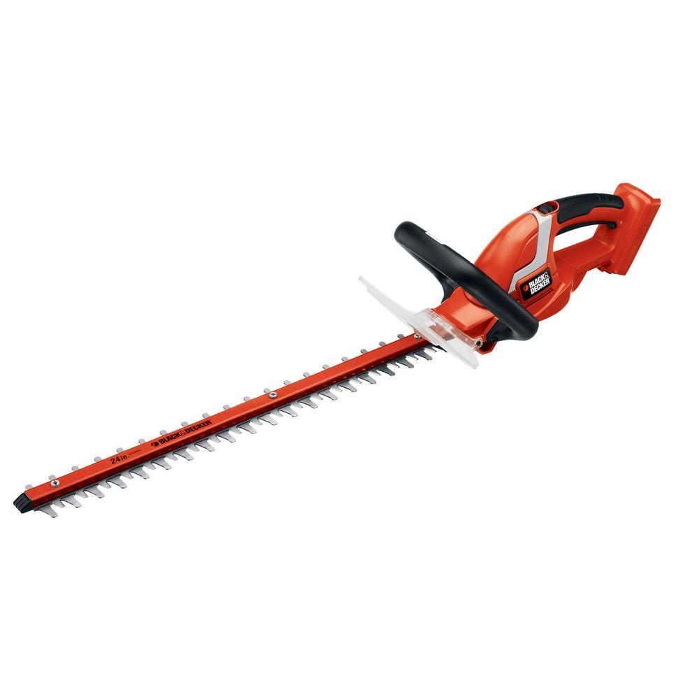 BLACK+DECKER 24 in. 40-Volt MAX Lithium-Ion Cordless Hedge Trimmer (Tool Only)