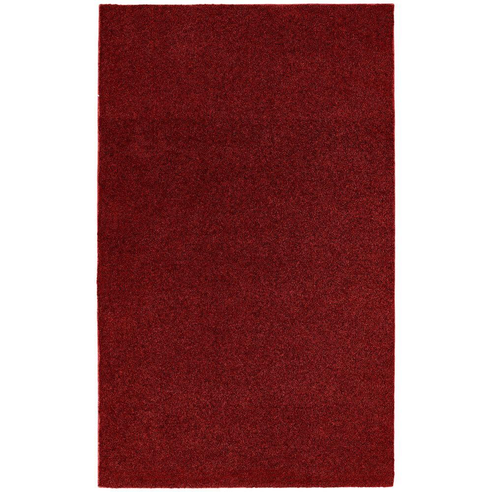 Garland Rug Washable Room Size Bathroom Carpet Burgundy 5 Ft X 6 Ft Area Rug Brc 0056 19 The