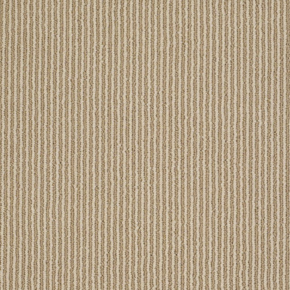 Martha Stewart Living Statford Heights - Color Natural Twine 6 in. x 9 in. Take Home Carpet Sample
