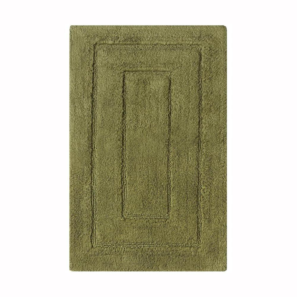 Home Decorators Collection Newport Moss 24 In X 40 In Cotton Bath Rug 9855310680 The Home Depot
