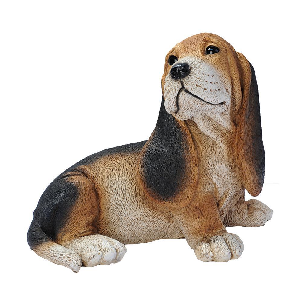 Highland Terrier Digging Dog Statue