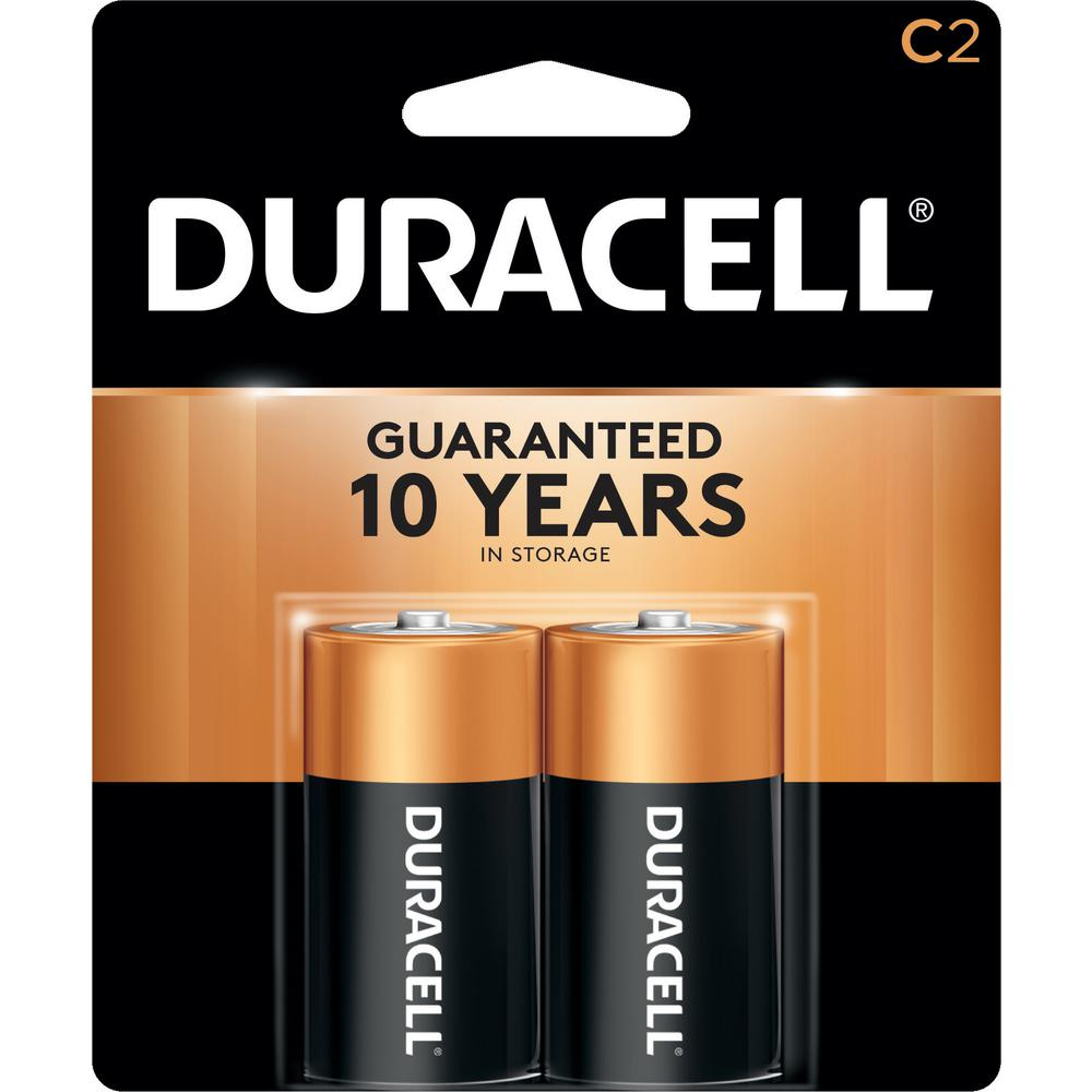 Duracell Coppertop C Alkaline Battery 2 Pack Mn1400b2z