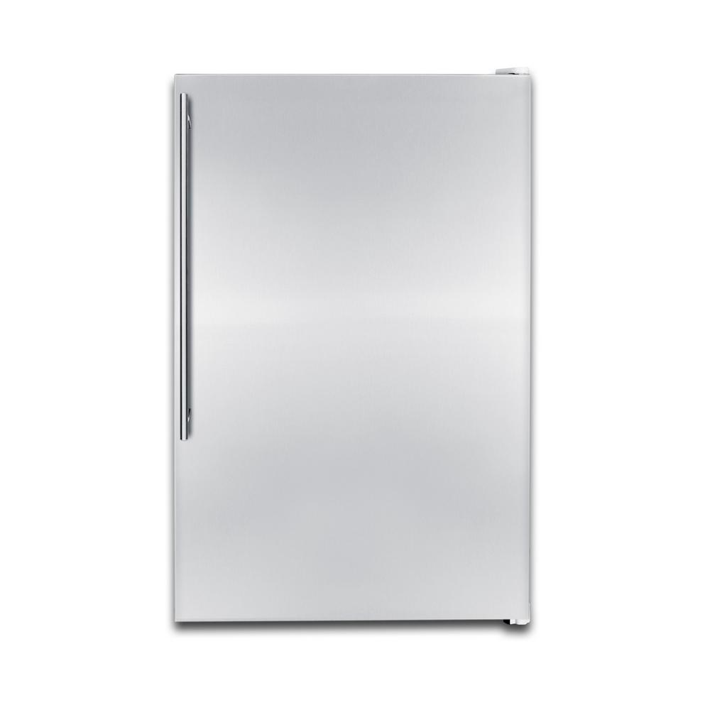 Summit Appliance 5 cu. ft. Upright Freezer In Stainless Steel
