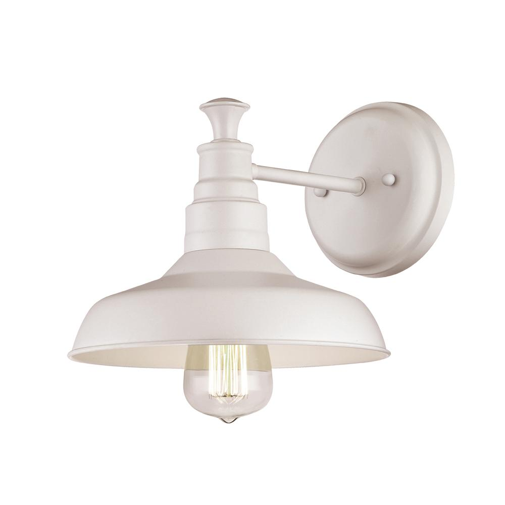Design House Kimball 1 Light Antique White Indoor Sconce