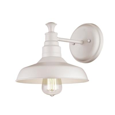 Kimball 1-Light Antique White Indoor Sconce