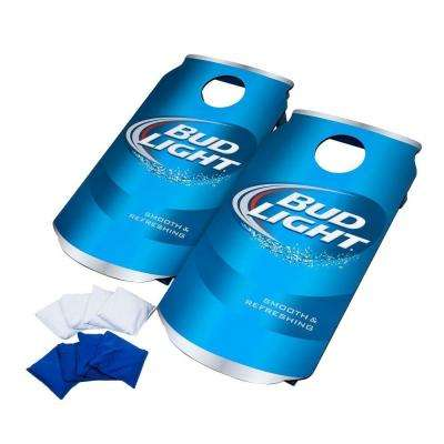 Bud Light Wood Cornhole Toss Game Set