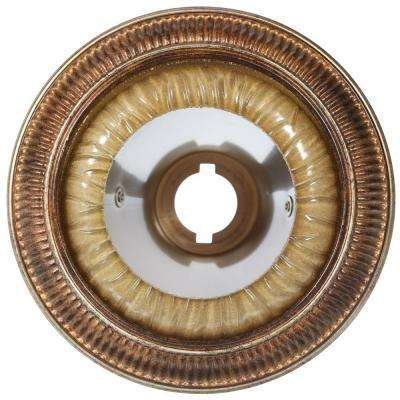 6 in. Kendallwood Creme Brulee Recessed Can Trim