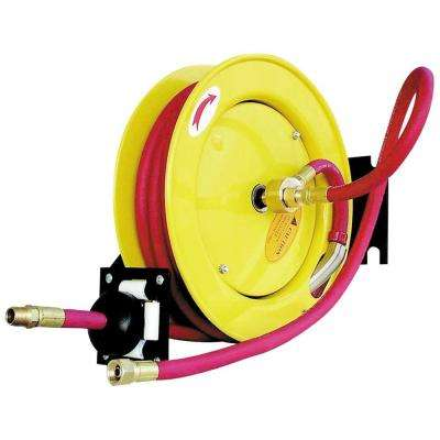 1/2 in. x 50 ft. Retractable Rubber Hose Reel