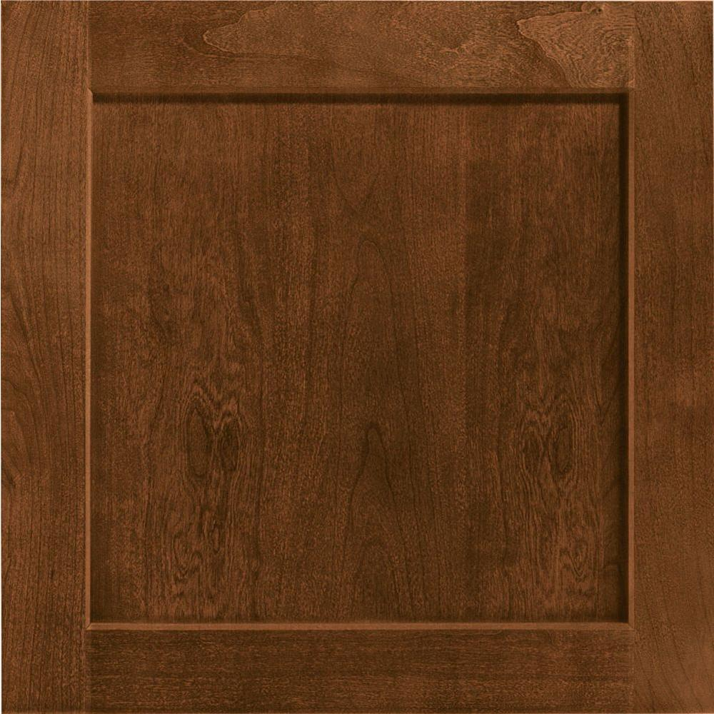 14-1/2 in. x 14-9/16 in. Cabinet Door Sample in Leesburg Cherry