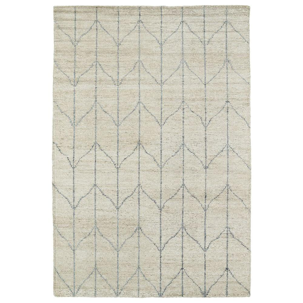 Kaleen Solitaire Sand 2 Ft X 3 Area Rug