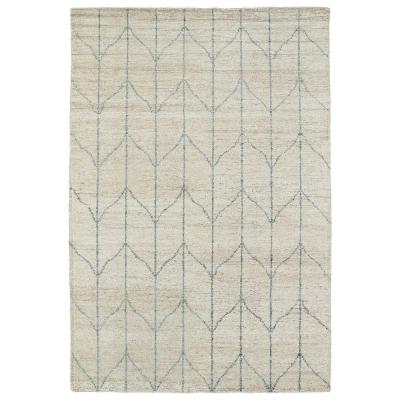 Solitaire Sand 8 ft. x 11 ft. Area Rug