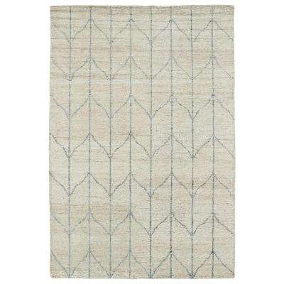 Solitaire Sand 10 ft. x 13 ft. Area Rug