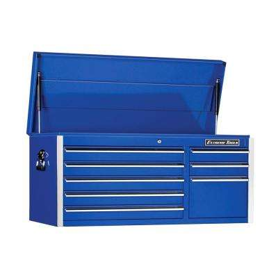 Ex Standard Series 41 in. 8-Drawer Top Chest, Blue