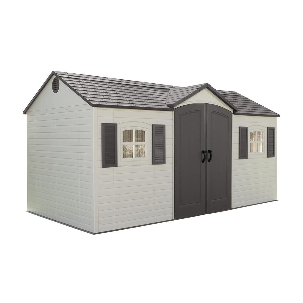 Lifetime 15 Ft X 8 Outdoor Garden Shed