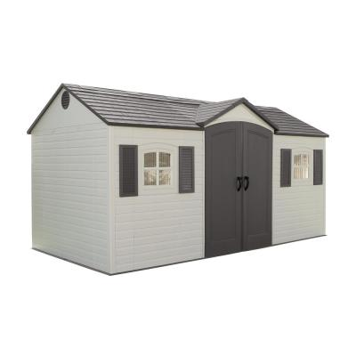 15 ft. x 8 ft. Outdoor Garden Shed