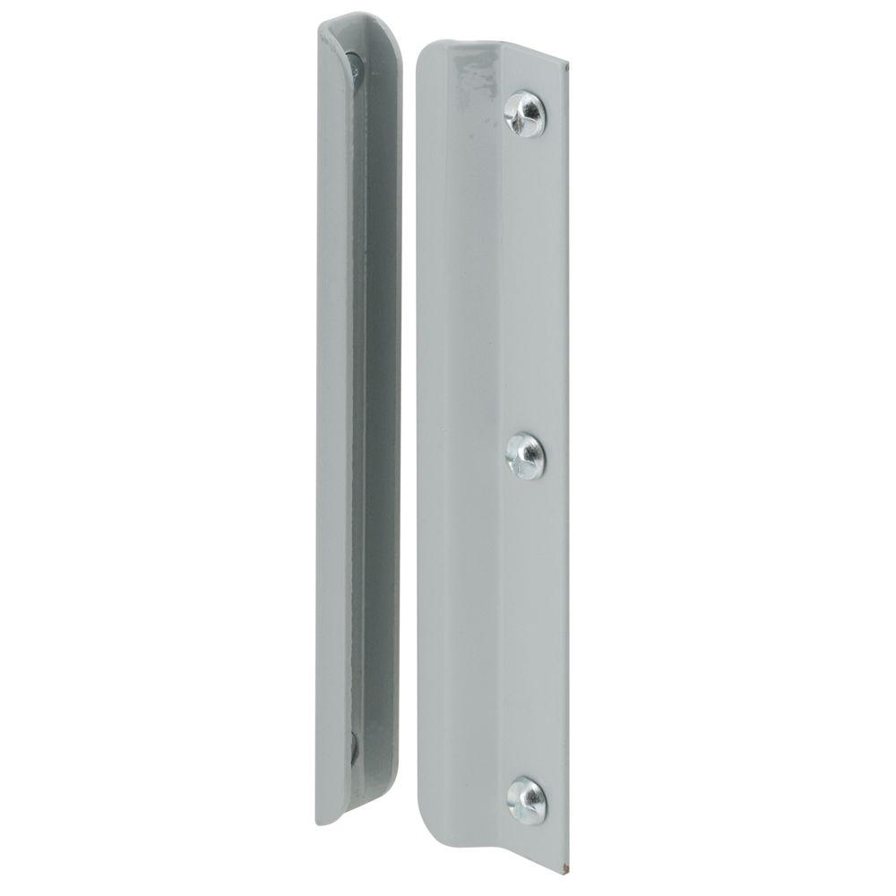 Gray In Swinging Latch Guard U 9511   The Home Depot. HANDS ON 6 in  Gray In Swinging Latch Guard U 9511   The Home Depot