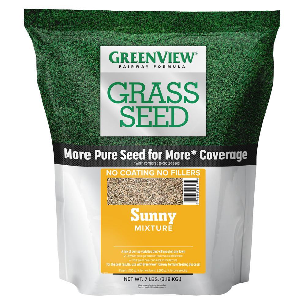 GreenView 7 lbs. Fairway Formula Grass Seed Sunny Mixture