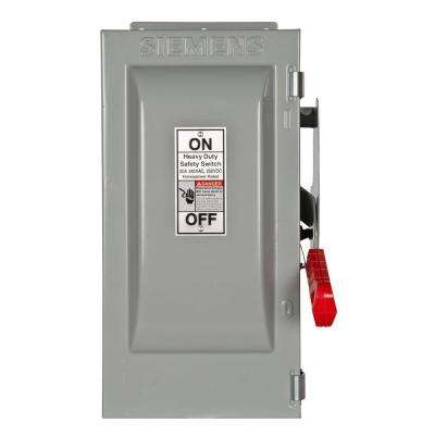 Heavy Duty 30 Amp 240-Volt 2-Pole Type 12 Fusible Safety Switch