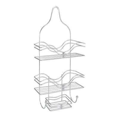 Ocean Style Shower Caddy in Chrome