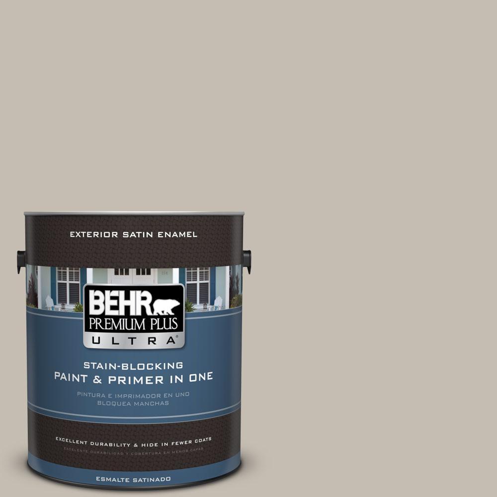 BEHR Premium Plus Ultra 1-gal. #N320-3 Tanglewood Satin Enamel Exterior Paint