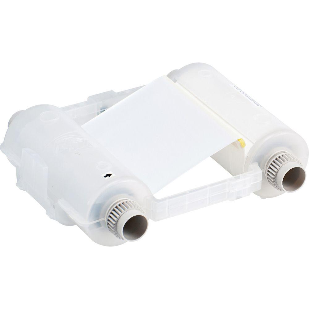 Brady GlobalMark White Ribbon Cartridge The Brady GlobalMark White Ribbon Cartridge is compatible with the GlobalMark printer. This super-tough, smear-proof ribbon ensures that your printed text lasts for years, both outdoors and in an industrial environment.