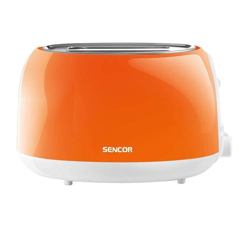 2-Slice Solid Orange Toaster