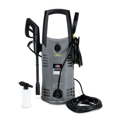 1600 PSI 1.6 GPM Electric Pressure Washer with Hose Reel for House, Garage, Vehicle and Outdoor Cleaning