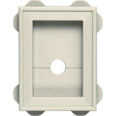 5.5 in. x 8.625 in. #082 Linen Wrap Around Mounting Block