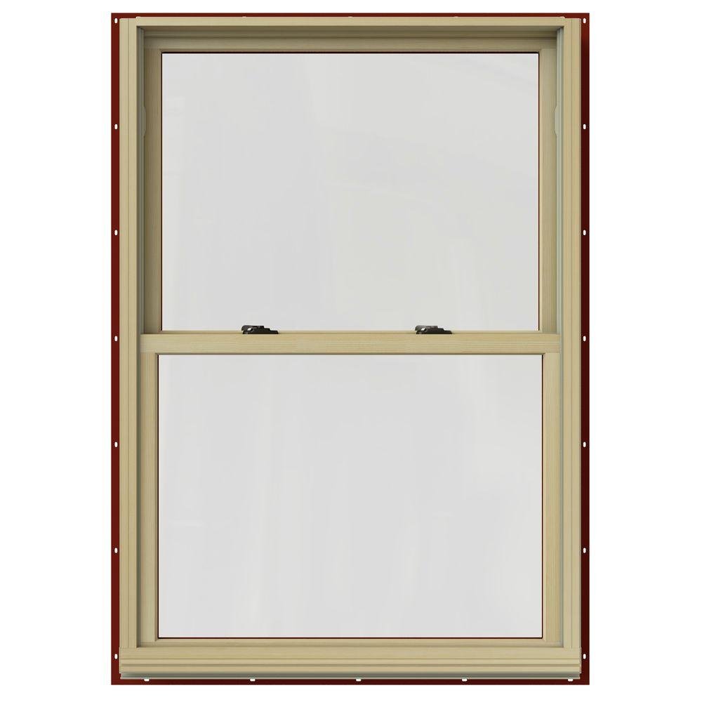 33.375 in. x 60 in. W-2500 Double Hung Clad Wood Window