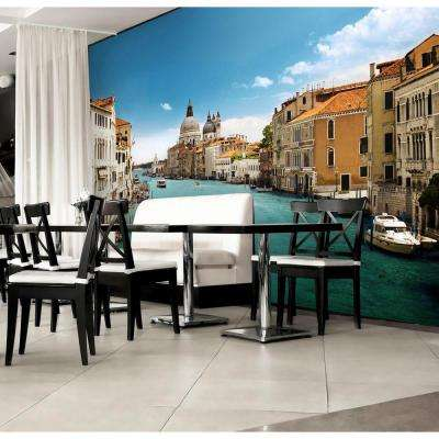 100 in. x 144 in. Grand Canal Venice Wall Mural