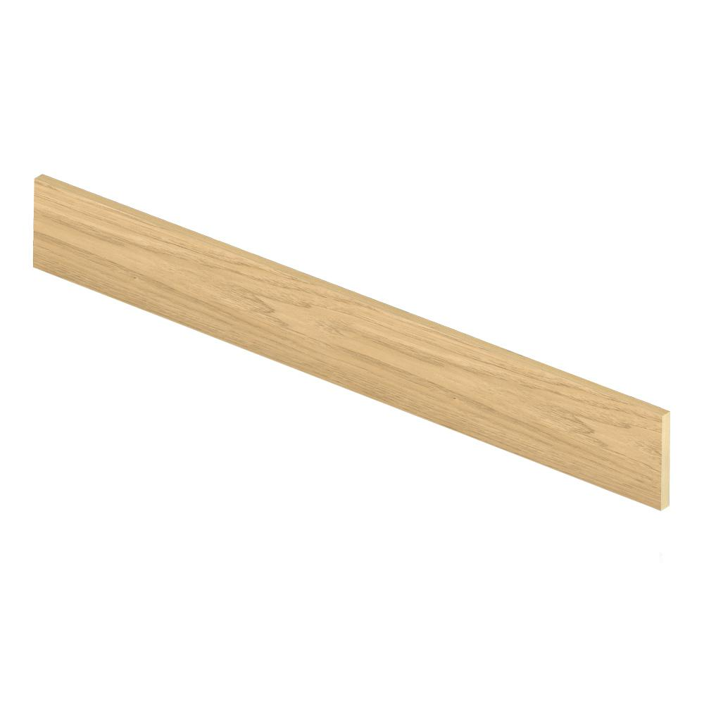 Cap A Tread Sun Bleached Hickory 47 in. Length x 1/2 in. Deep x 7-3/8 in. Height Laminate Riser to be Used with Cap A Tread