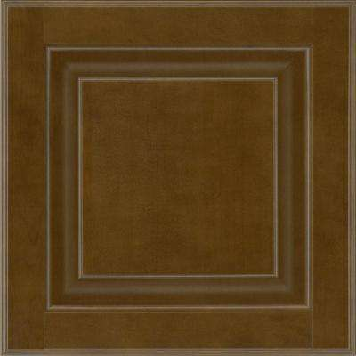 13 in. x 12-7/8 in. Cabinet Door Sample in Olmsted Maple Truffle