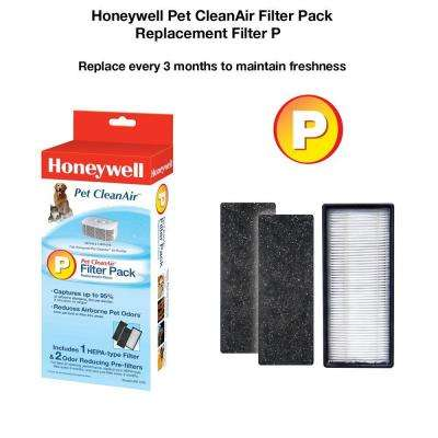 Pet CleanAir Replacement Filter Combo Pack