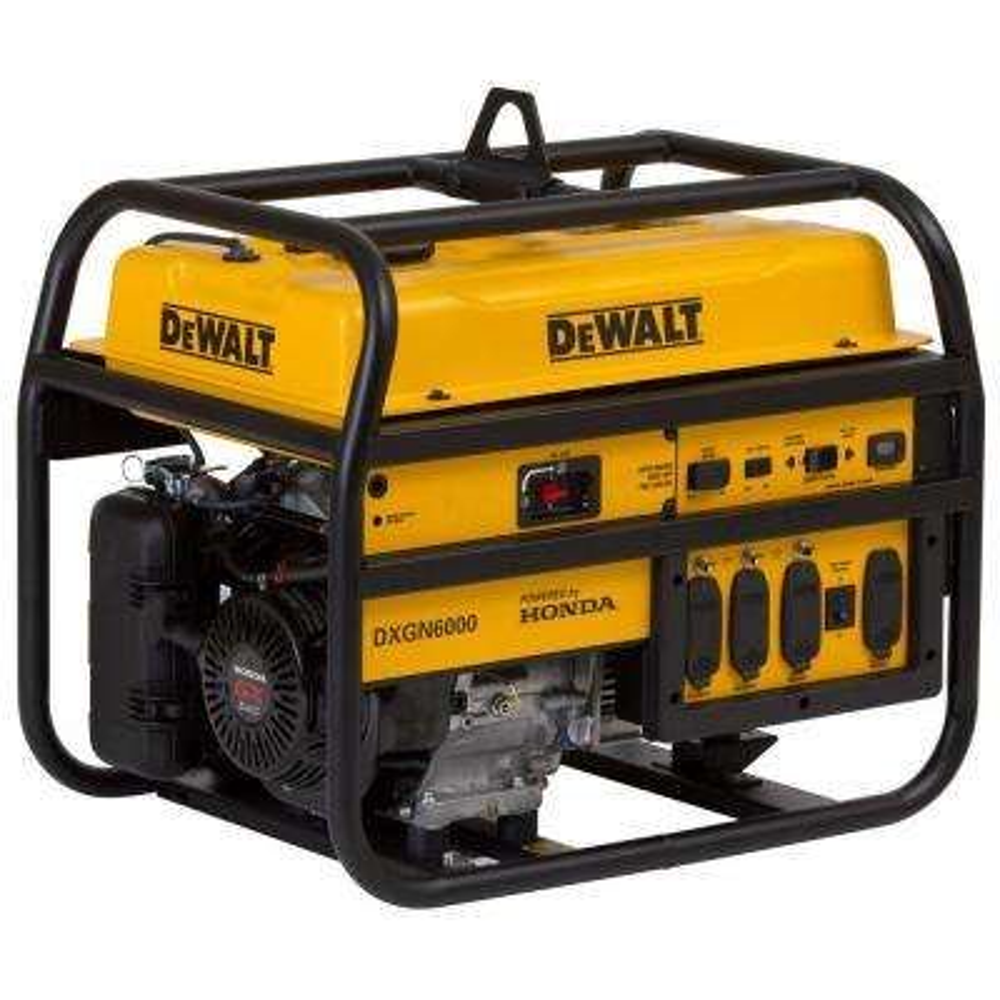 5300-Watt Gasoline Powered Manual Start Portable Generator with Honda Engine