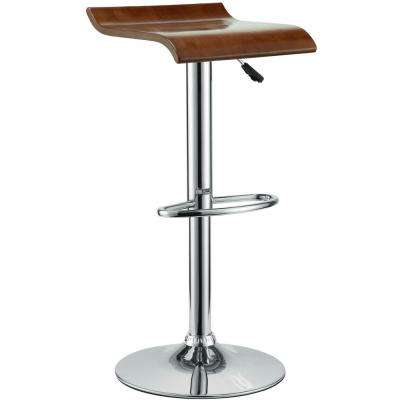 Bentwood 30 in. Oak Bar Stool