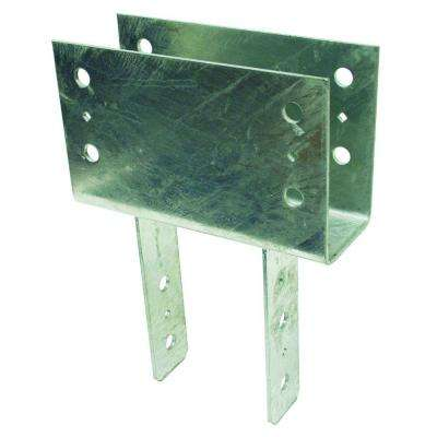 4 in. x 6 in. 7-Gauge Hot-Dip Galvanized Column Cap