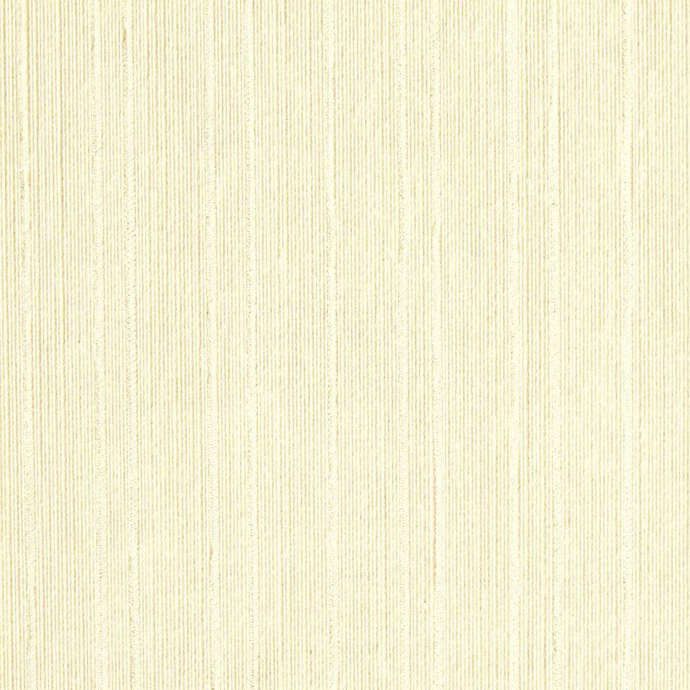 The Wallpaper Company 8 in. x 10 in. Cream Stripe Textured Grasscloth Wallpaper Sample-DISCONTINUED
